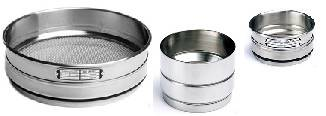 Sieves & Analysis Sieves